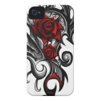 dragon rose Case-Mate iPhone 4 cases