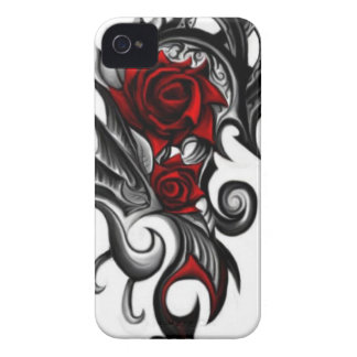 dragon rose iPhone 4 case