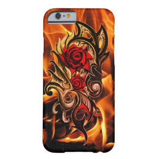 dragon rose of love barely there iPhone 6 case