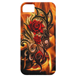 dragon rose of love iPhone 5 covers