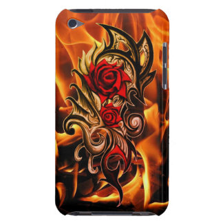 dragon rose of love iPod touch cases