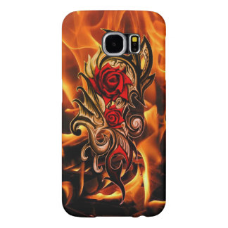 dragon rose of love samsung galaxy s6 cases
