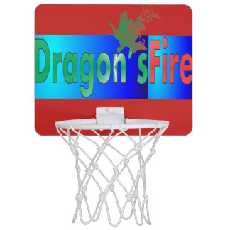 "Dragon""s Fire Mini Basketball Hoop"