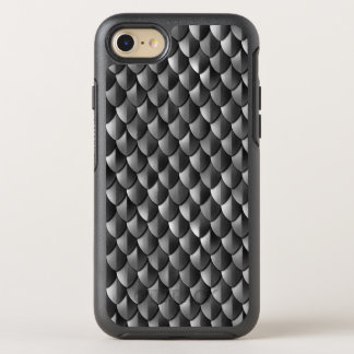 Dragon Scale Armor Black OtterBox Symmetry iPhone 8/7 Case