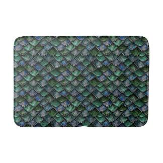 Dragon Scales - Emerald Bath Mat