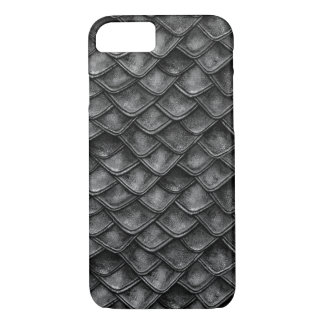 Dragon Scales - Shades of Gray iPhone 8/7 Case