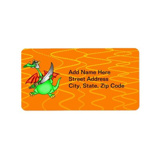 Dragon Sheik Label