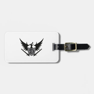 DRAGON SHEILD MASCOT TAGS FOR BAGS