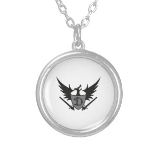 DRAGON SHEILD MASCOT PERSONALIZED NECKLACE