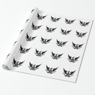 DRAGON SHEILD MASCOT WRAPPING PAPER