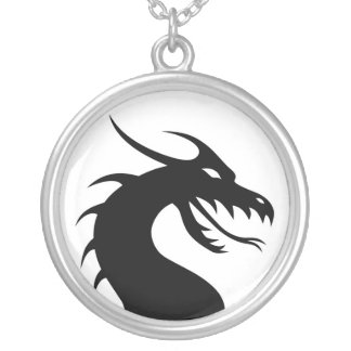 Dragon Silhouette Necklace