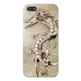 Dragon Sketch Design Case For The iPhone 5