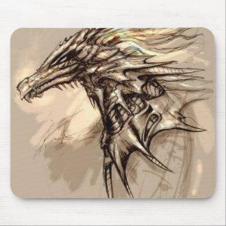 Dragon Sketch Mousepad