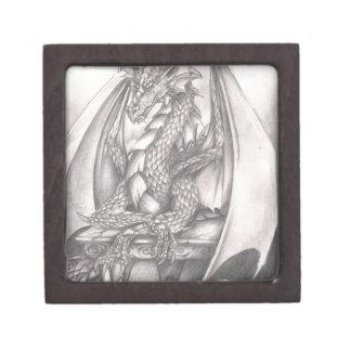 Dragon Sketch Premium Trinket Boxes