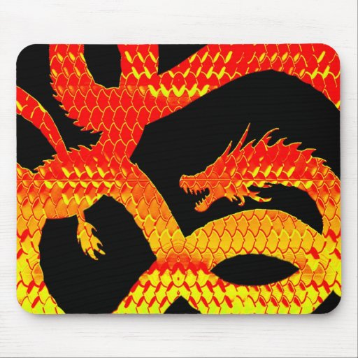 Dragon Skin B Mousepads