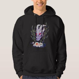 Dragon skull bright sweatshirt