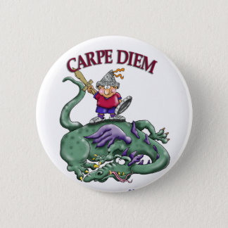 Dragon Slayer - CARPE DIEM 6 Cm Round Badge