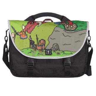 Dragon Slayer laptop bag