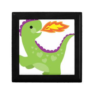 Dragon Small Square Gift Box