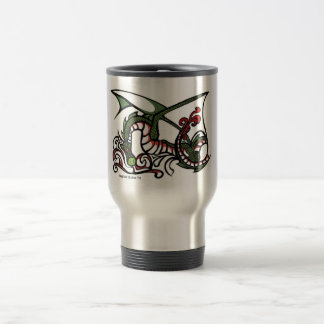 Dragon Smoke Travel Mug