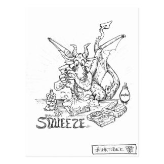 Dragon Squeeze Postcard