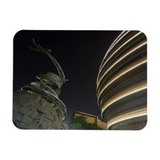 "Dragon Statue Taipei 3""x4"" Magnet"