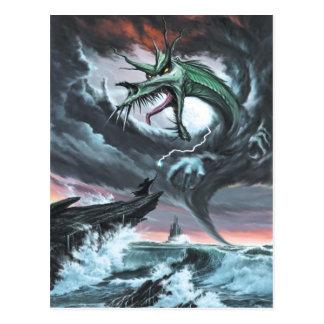 Dragon Storm Postcard