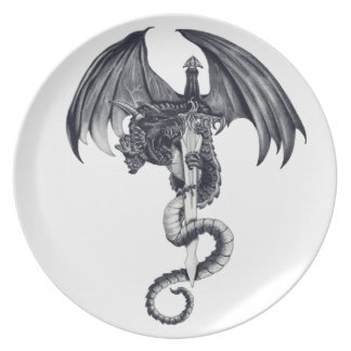 Dragon & Sword Plate
