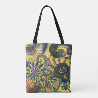 Dragon Tails and Fire Crackers Tote Bag