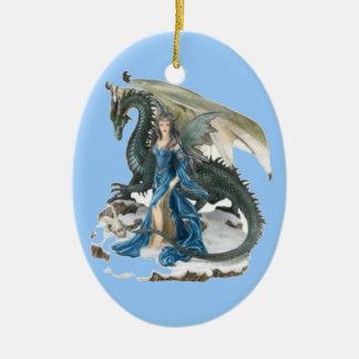 Dragon Tamer 2 Ceramic Ornament