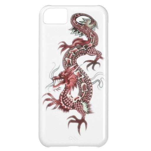 Dragon tattoo art cool fantasy creature iPhone 5C covers