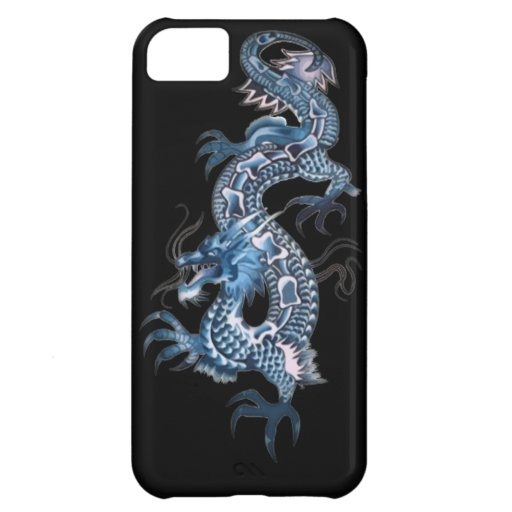 Dragon tattoo art cool fantasy creature cover for iPhone 5C