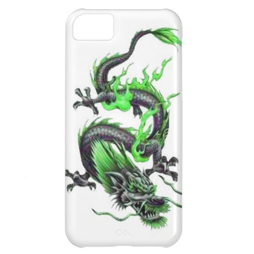 Dragon tattoo art cool fantasy creature fire case for iPhone 5C