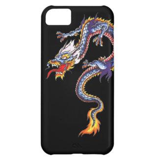 Dragon tattoo art cool fantasy creature fire iPhone 5C cover