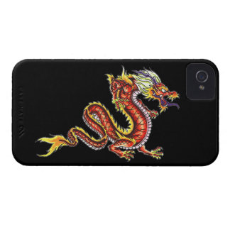 Dragon tattoo art cool fantasy creature fire iPhone 4 Case-Mate cases