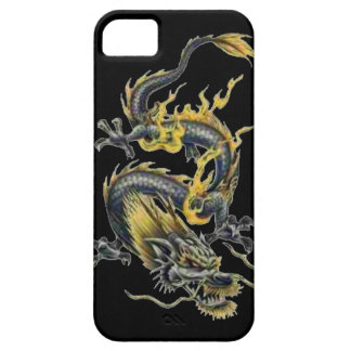 Dragon tattoo art cool fantasy creature fire iPhone 5 cases