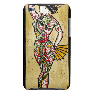 Dragon Tattoo Barely There iPod Cases