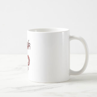 Dragon Tattoo - Red Coffee Mug