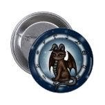 Dragon Taurus Zodiac Buttons