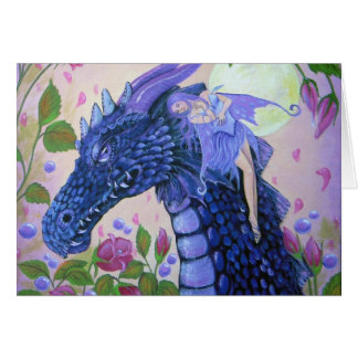 Dragon Tears Sympathy Card