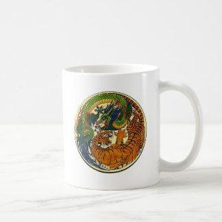 DRAGON TIGER COFFEE MUG