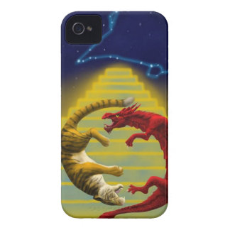 Dragon Tiger Constellation iPhone 4 Cover