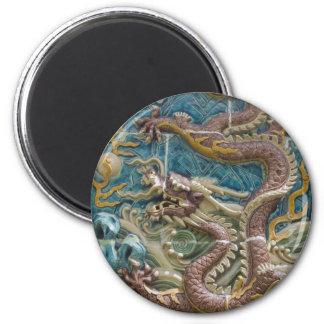 dragon tile magnet