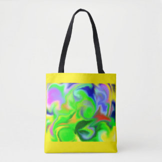 Dragon Tornado Tote Bag