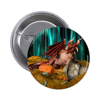 Dragon Treasure 6 Cm Round Badge