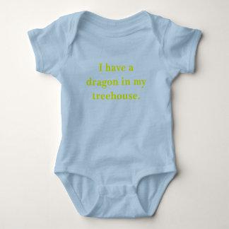 Dragon treehouse apparel baby bodysuit