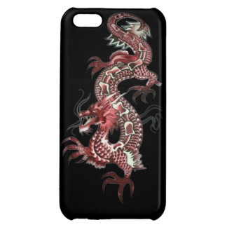 Dragon tribal art tattoo cool color design case for iPhone 5C