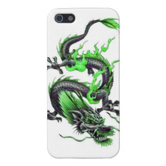 Dragon tribal art tattoo cool color design case for the iPhone 5