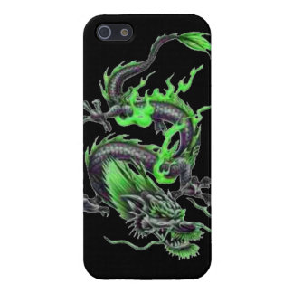 Dragon tribal art tattoo cool color design cover for iPhone 5/5S