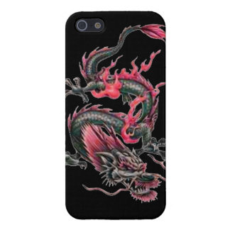 Dragon tribal art tattoo cool color design iPhone 5/5S cover